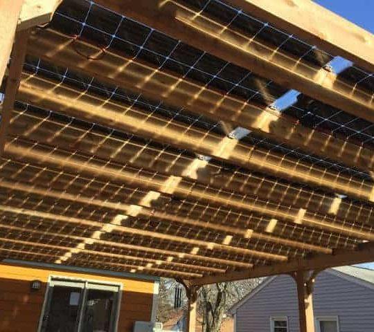 Solar Pergola Kit