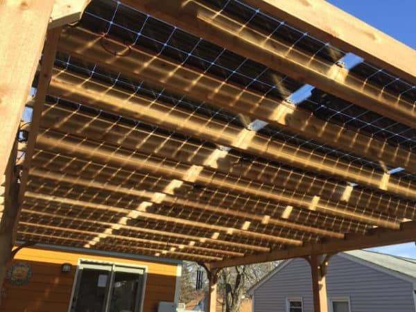 Big Kahuna Solar Ready Pergola Kit