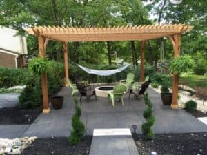 Cedar Patio Pergola Kit - Big Kahuna 20x20