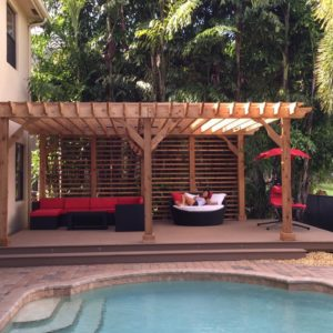 Custom Patio Pergola Kits - Big Kahuna Custom Pergola