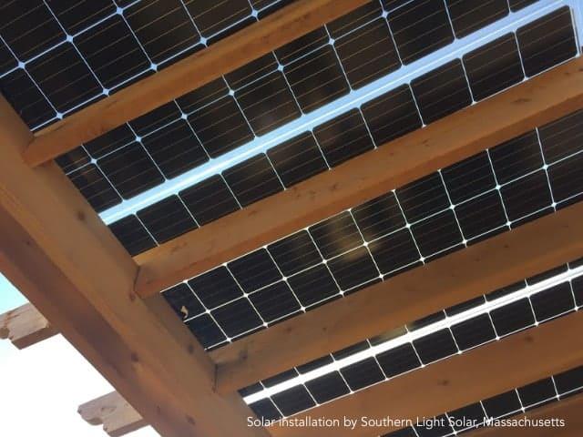 Solar Pergola Kit Buy The Big Kahuna Solar Panel Pergola