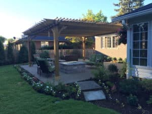 Patios With Maximum Shade Pergola Designs – Big Kahuna 20x20