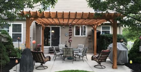 multi use patio pergola