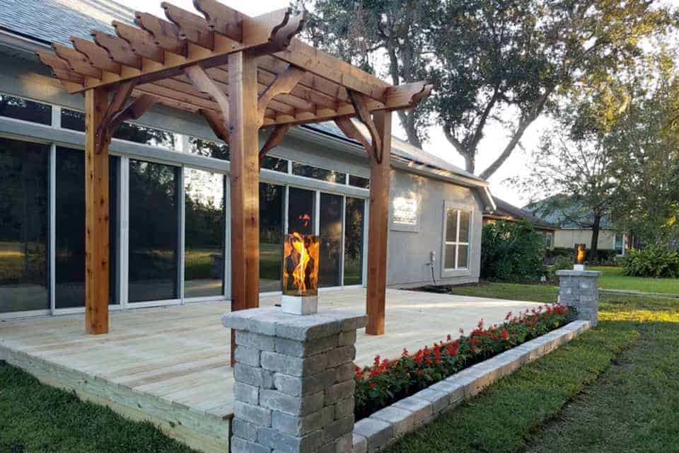 10 Foot Big Kahuna Freestanding Pergola Kit
