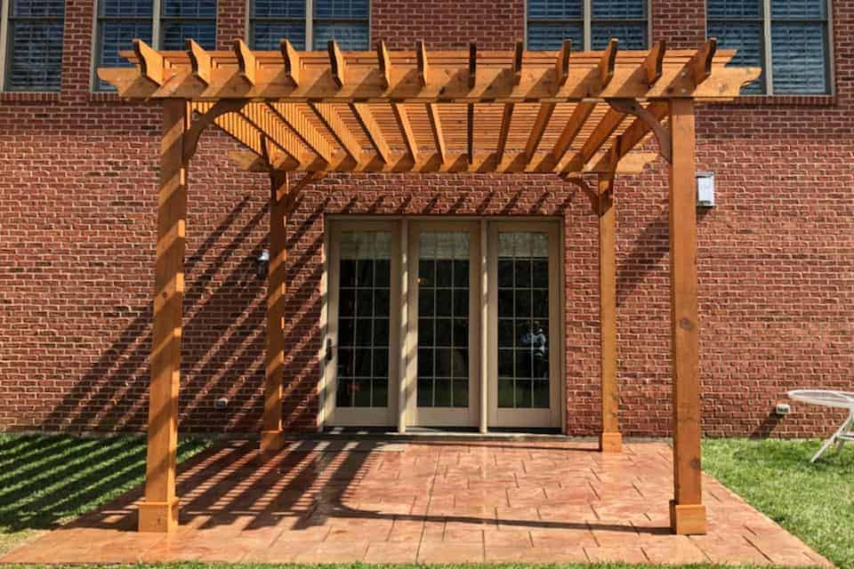 15 Foot Big Kahuna Pergola Kit