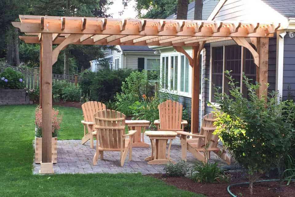 16 Foot Big Kahuna Pergola Kit