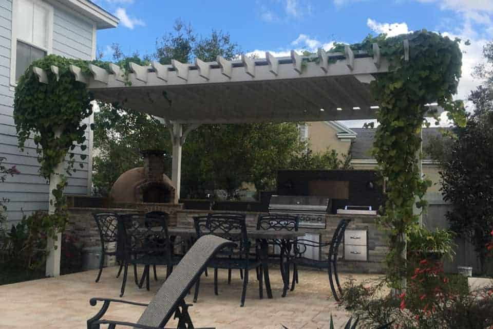 17 Foot Big Kahuna Pergola Kit