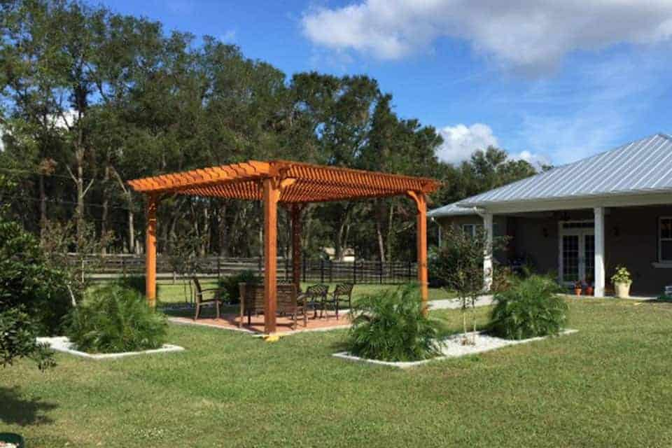 18 Foot Big Kahuna Pergola Kit