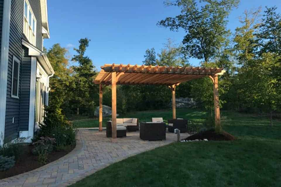 19 Foot Big Kahuna Freestanding Pergola Kit