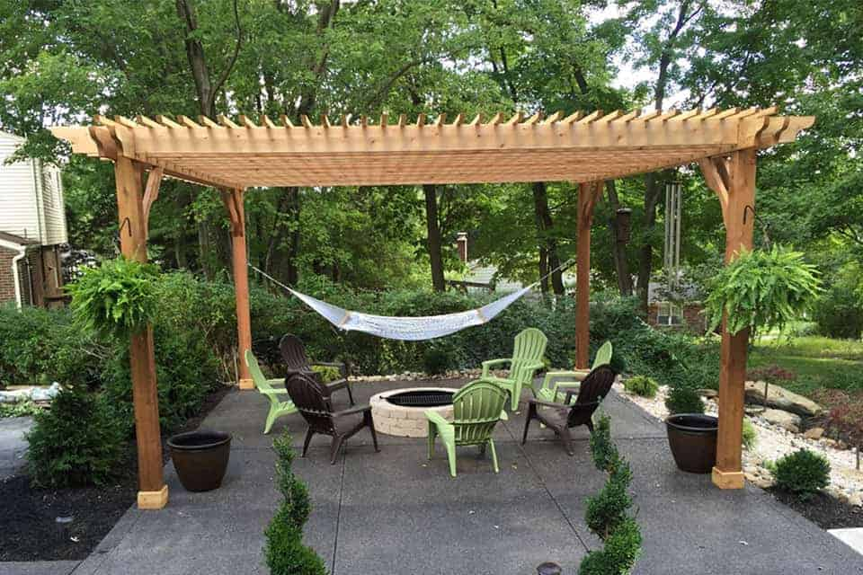 20 Foot Big Kahuna Freestanding Pergola Kit