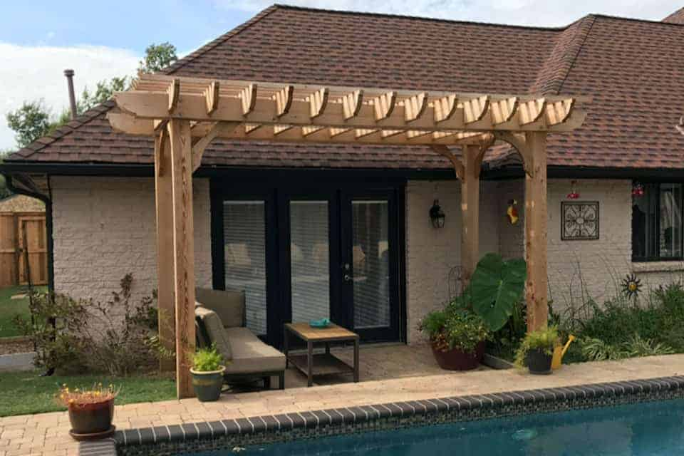 9 Foot Big Kahuna Freestanding Pergola Kit