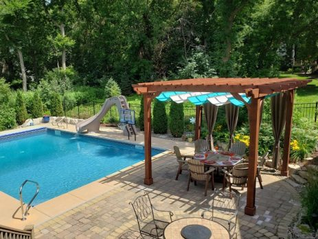 Pool Pergola for Shade – Sombrero 14x14