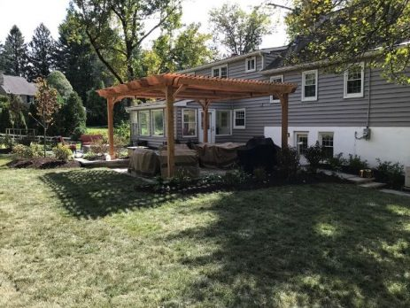 best shade cover pergola